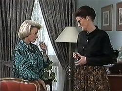 Helen Daniels, Dorothy Burke in Neighbours Episode 1213