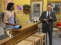 Eddie Buckingham, Harold Bishop in Neighbours Episode 1213