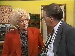 Madge Bishop, Harold Bishop in Neighbours Episode 1213