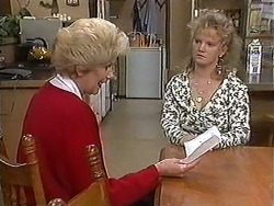 Madge Bishop, Sharon Davies in Neighbours Episode 1214