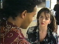 Eddie Buckingham, Caroline Alessi in Neighbours Episode 1214