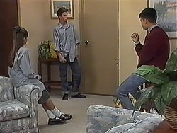 Cody Willis, Todd Landers, Josh Anderson in Neighbours Episode 1214