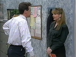Paul Robinson, Melanie Pearson in Neighbours Episode 1214