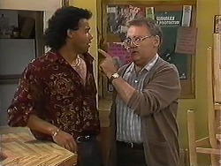 Eddie Buckingham, Harold Bishop in Neighbours Episode 1214