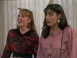 Melanie Pearson, Candice Hopkins in Neighbours Episode 1214