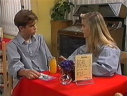 Todd Landers, Melissa Jarrett in Neighbours Episode 1214