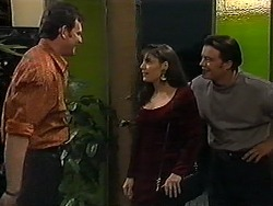 Des Clarke, Candice Hopkins, Matt Robinson in Neighbours Episode 1214