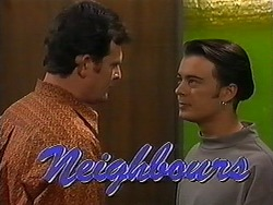 Des Clarke, Matt Robinson in Neighbours Episode 1214