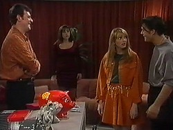 Des Clarke, Candice Hopkins, Melanie Pearson, Matt Robinson in Neighbours Episode 1215