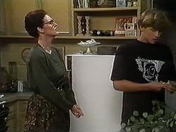 Dorothy Burke, Ryan McLachlan in Neighbours Episode 1215