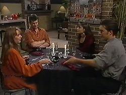 Melanie Pearson, Des Clarke, Candice Hopkins, Matt Robinson in Neighbours Episode 1215