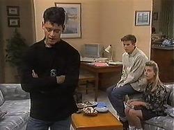 Josh Anderson, Todd Landers, Melissa Jarrett in Neighbours Episode 1215
