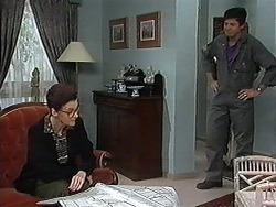 Dorothy Burke, Joe Mangel in Neighbours Episode 1215