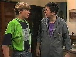 Ryan McLachlan, Joe Mangel in Neighbours Episode 1215