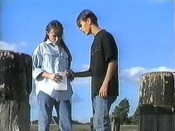 Cody Willis, Todd Landers in Neighbours Episode 1215