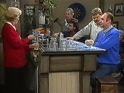 Madge Bishop, Man, Man, Man in Neighbours Episode 1216