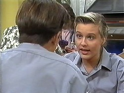 Todd Landers, Melissa Jarrett in Neighbours Episode 1216