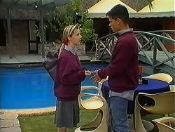 Melissa Jarrett, Josh Anderson in Neighbours Episode 1217