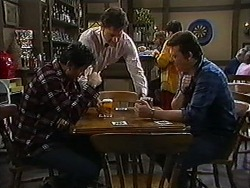 Joe Mangel, Ron, Des Clarke in Neighbours Episode 1217