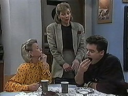 Helen Daniels, Beverly Robinson, Paul Robinson in Neighbours Episode 1218