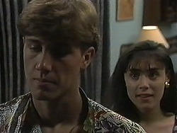 Ryan McLachlan, Candice Hopkins in Neighbours Episode 1218