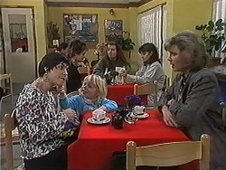 Kerry Bishop, Sky Bishop, Beverly Robinson in Neighbours Episode 1218