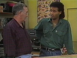 Harold Bishop, Eddie Buckingham in Neighbours Episode 1220