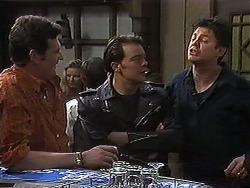 Des Clarke, Matt Robinson, Joe Mangel in Neighbours Episode 1220