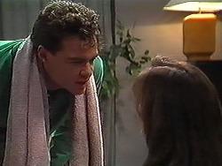 Paul Robinson, Caroline Alessi in Neighbours Episode 1220