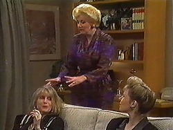 Felicity Brent, Madge Bishop, Beverly Robinson in Neighbours Episode 1220
