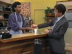 Eddie Buckingham, Paul Robinson in Neighbours Episode 1221