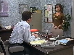 Paul Robinson, Christina Alessi in Neighbours Episode 1221