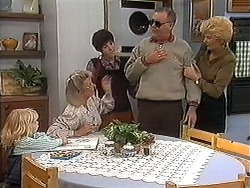 Sky Bishop, Helen Daniels, Kerry Bishop, Harold Bishop, Madge Bishop in Neighbours Episode 1221