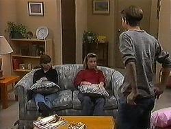 Cody Willis, Melissa Jarrett, Todd Landers in Neighbours Episode 1221