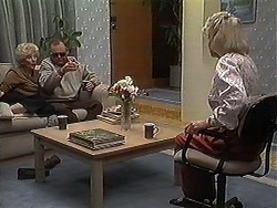 Madge Bishop, Harold Bishop, Helen Daniels in Neighbours Episode 1221