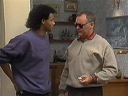 Eddie Buckingham, Harold Bishop in Neighbours Episode 1221