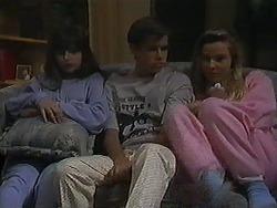 Cody Willis, Todd Landers, Melissa Jarrett in Neighbours Episode 1221