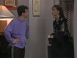 Paul Robinson, Caroline Alessi in Neighbours Episode 1222