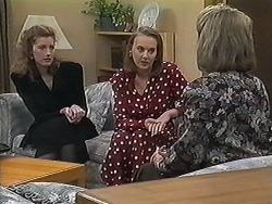 Diane Beaumont, Sarah Brookes, Helen Daniels in Neighbours Episode 1222