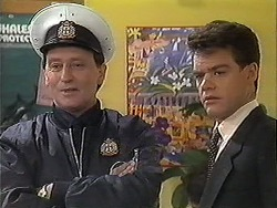 Security Guard, Paul Robinson in Neighbours Episode 1222