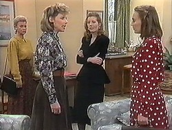 Helen Daniels, Beverly Marshall, Diane Beaumont, Sarah Brookes in Neighbours Episode 1222