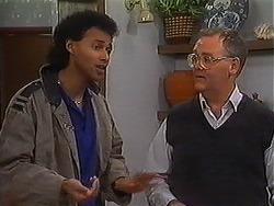 Eddie Buckingham, Harold Bishop in Neighbours Episode 1223