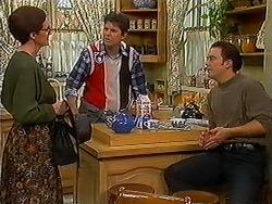 Dorothy Burke, Joe Mangel, Matt Robinson in Neighbours Episode 1223