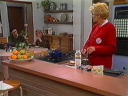 Dorothy Burke, Helen Daniels, Madge Bishop in Neighbours Episode 1223
