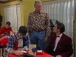 Joe Mangel, Jim Robinson, Matt Robinson in Neighbours Episode 1223