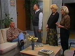 Jim Robinson, Harold Bishop, Madge Bishop, Helen Daniels in Neighbours Episode 1223