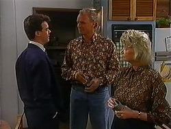 Paul Robinson, Jim Robinson, Helen Daniels in Neighbours Episode 1223