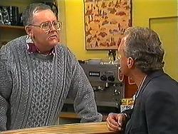 Harold Bishop, Jim Robinson in Neighbours Episode 1225