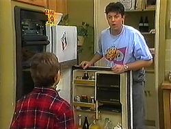 Toby Mangel, Joe Mangel in Neighbours Episode 1225