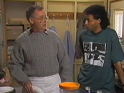 Harold Bishop, Eddie Buckingham in Neighbours Episode 1226